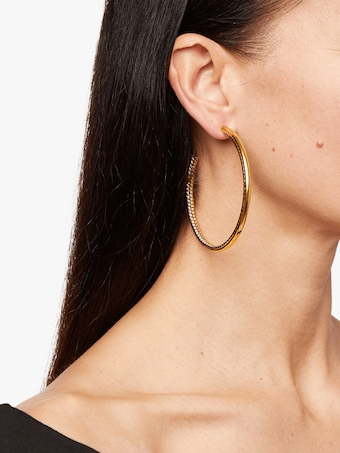 Erickson Beamon Breaker Of Chains Hoop Earrings 2