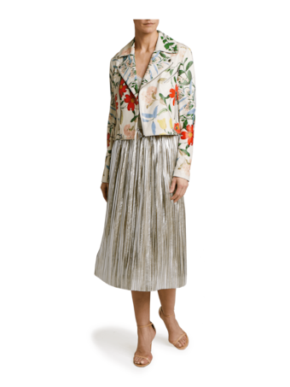 Mikaela Midi Pleated Skirt