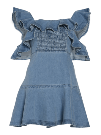 Denim Lara Dress
