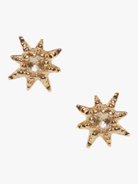 Micro Aztec Starburst Studs
