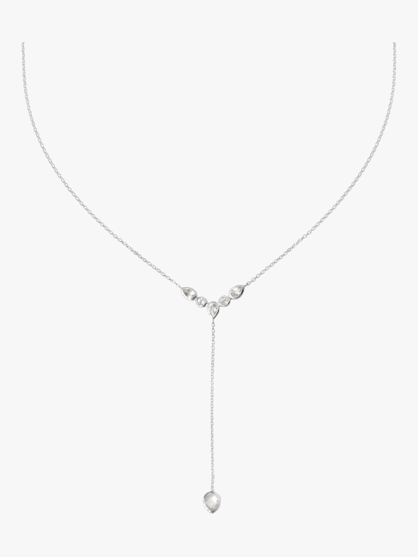 Classique Bezel Y Necklace