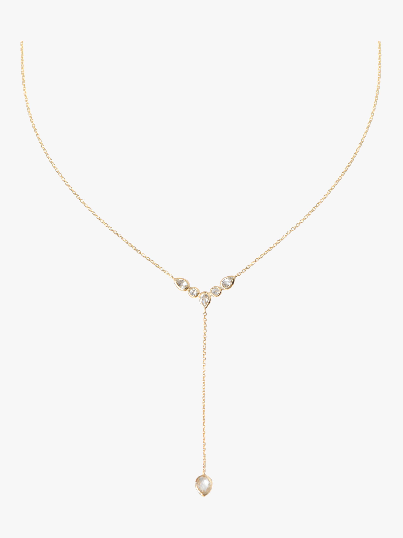 Anzie Classique Bezel Y Necklace 1