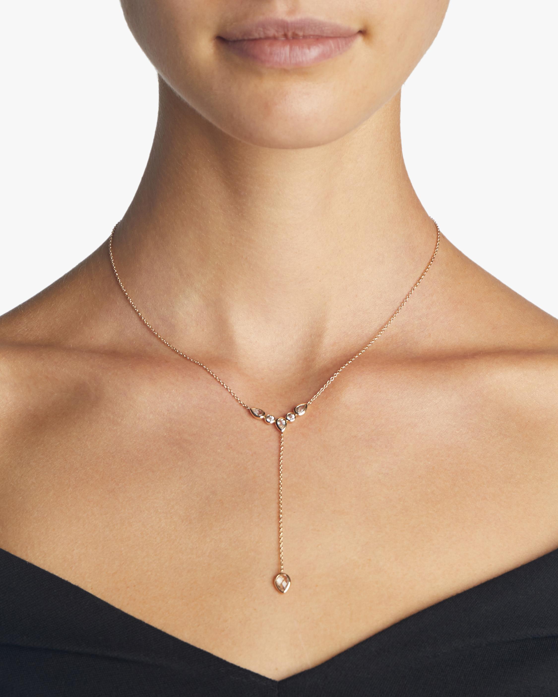 Anzie Classique Bezel Y Necklace 2