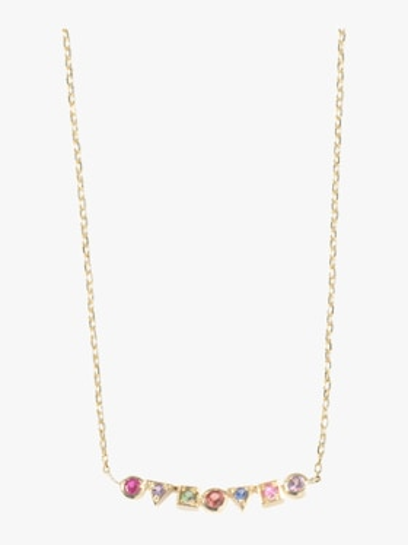 Cléo Multicolored Bar Necklace