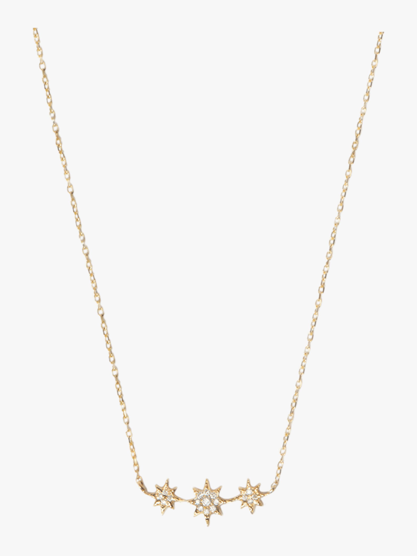 Aztec North Star Bar Necklace