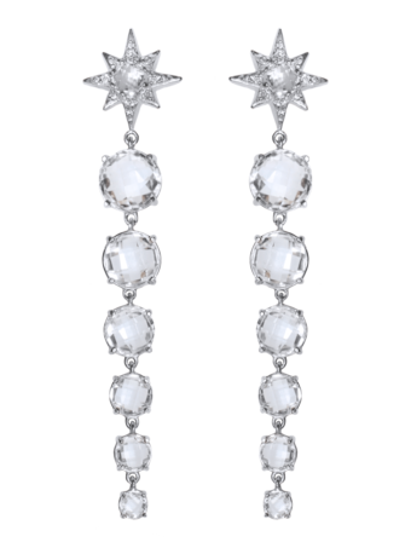 Aztec Graduated Starburst Earrings