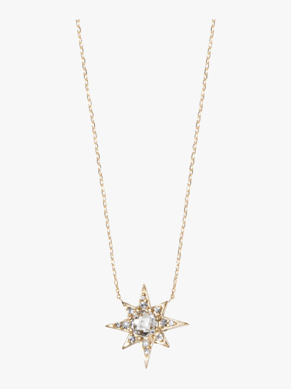 Aztec Mini Starburst Necklace