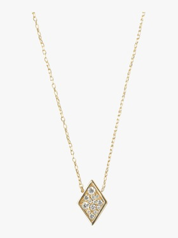 Cléo Diamond Shaped Necklace