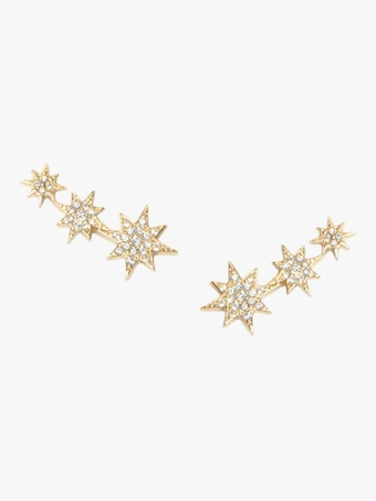 Anzie Aztec North Star Trio Studs 1