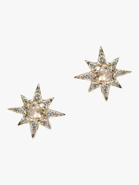 Mini Aztec Starbust Earrings