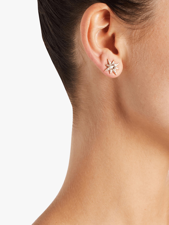 Anzie Mini Aztec Starbust Earrings 2