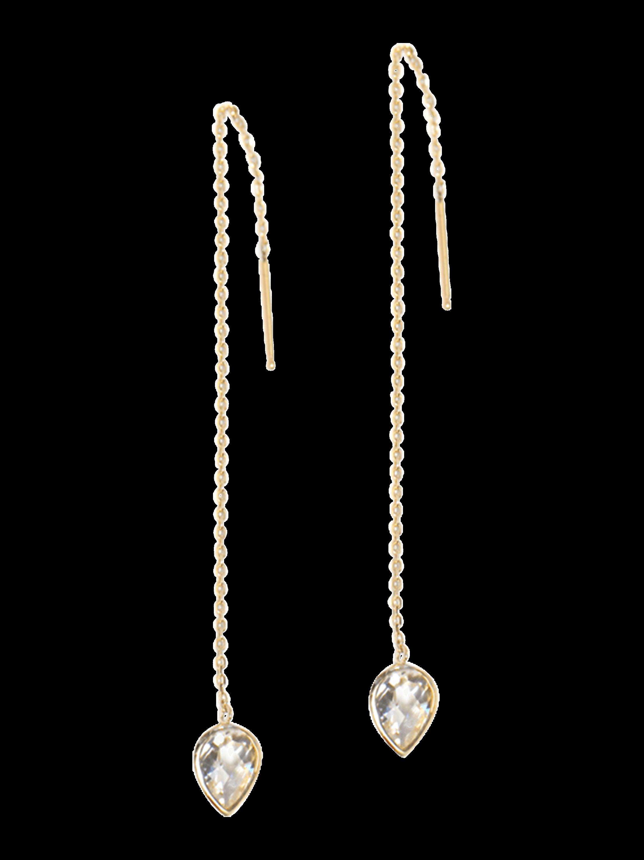 Classique Pearl Chain Earrings
