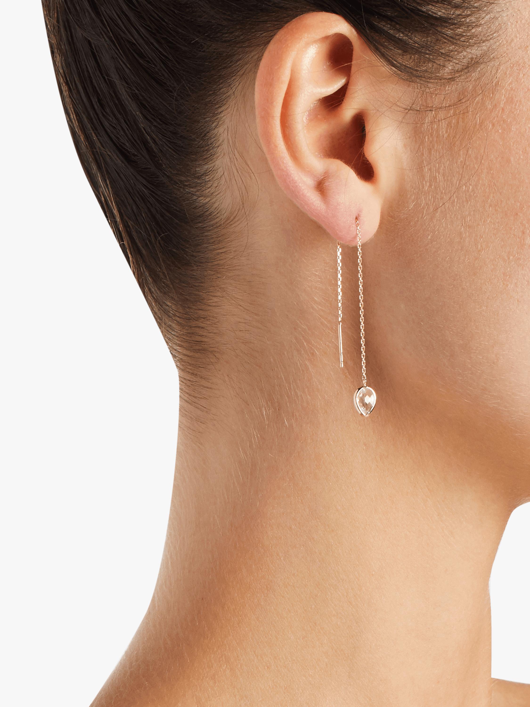 Classique Pear Chain Earrings