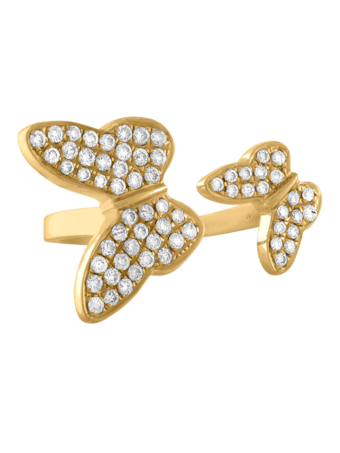 Butterfly Pinky Ring