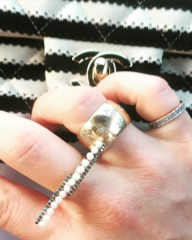 Jane Kaye Pearl Bar Ring 1
