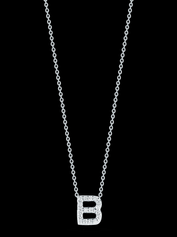 Roberto Coin Love Letter Pendant Necklace 1