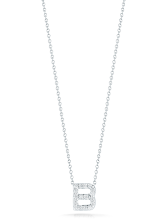 Roberto Coin Love Letter Pendant Necklace 1