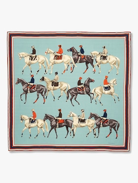 Polo Printed Cashmere Scarf