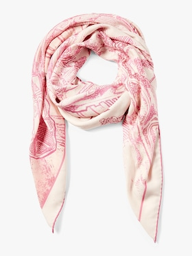 New York Printed Cashmere Scarf