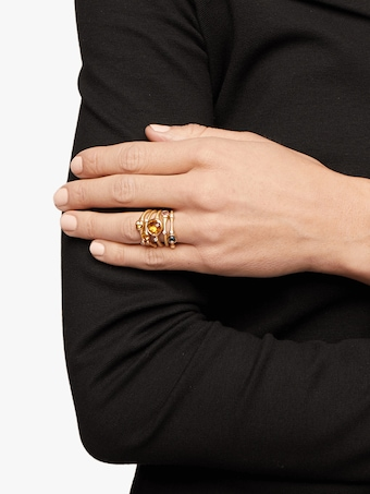 Carelle Sapphire Stackable Ring 2
