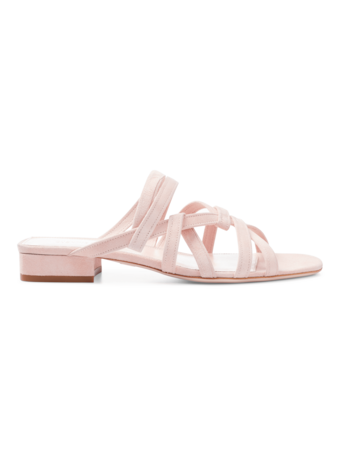 Liam Flat with Intertwining Strap Detail