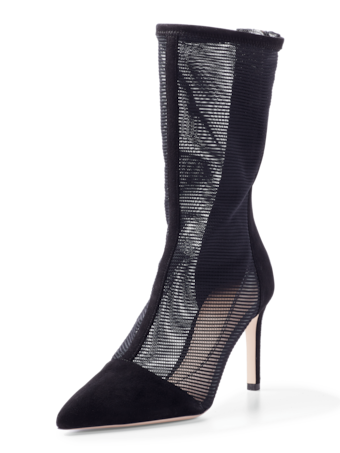 Enzo Mesh/Suede Mid-Length Boot