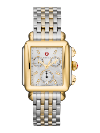 Deco Two Tone Watch