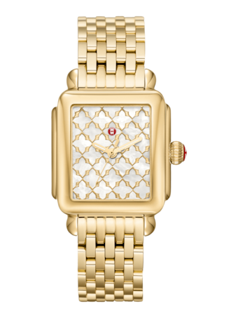 Deco Gold Watch