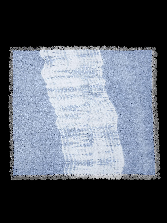 Tie-Dye Cashmere Silk Scarf