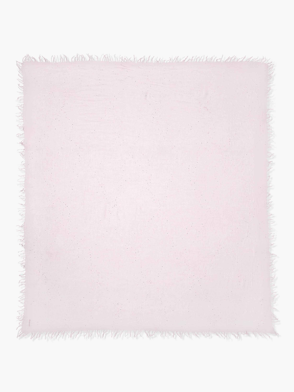 Chan Luu Scattered Sequin Cashmere Silk Fringe Scarf 1