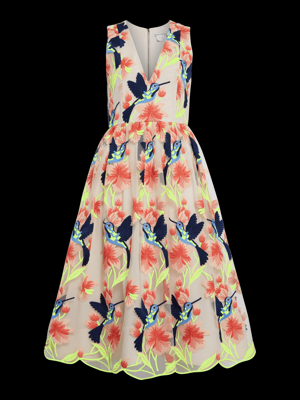 Becca Tea Length Dress