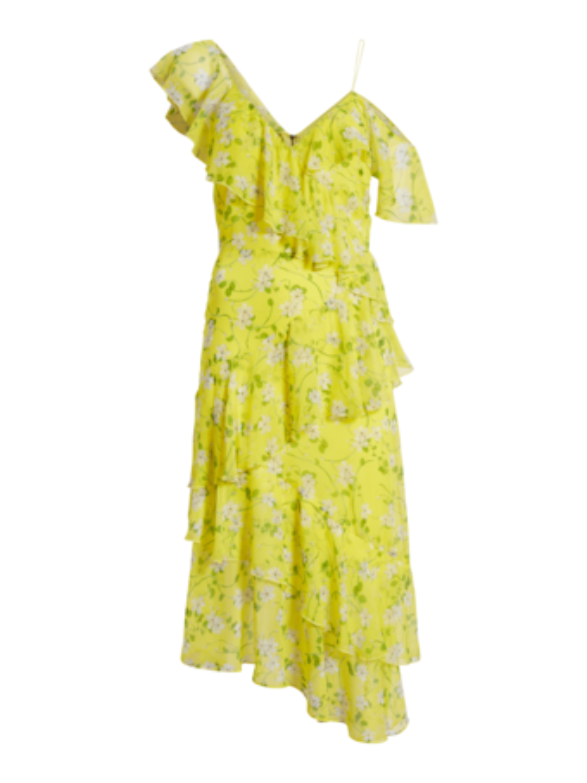 Olympia Asymmetrical Dress
