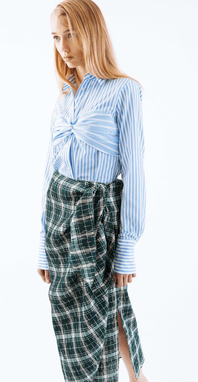 Classic Longsleeve Bustier Shirt