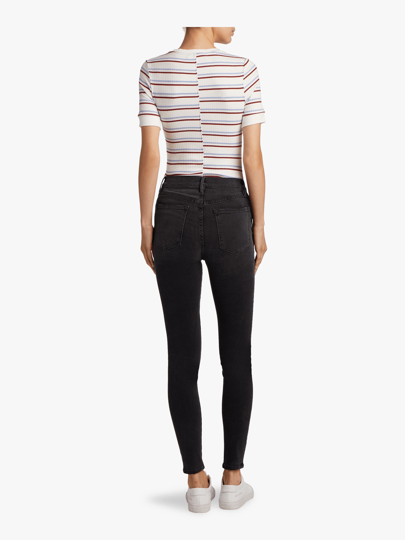 Ali High Rise Skinny Jeans Frame