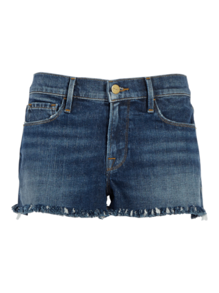 Le Cutoff Shredded Raw Shorts