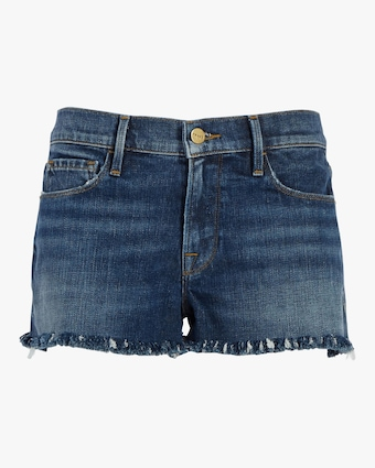 Frame Le Cutoff Shredded Raw Shorts 1