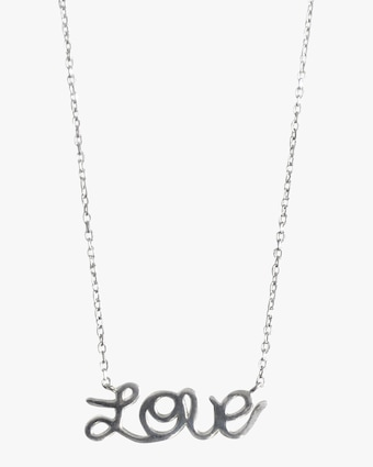 Jac + Jo Love Pendant Necklace 1