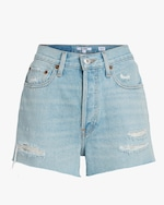 RE/DONE 70s High-Rise Shorts 0