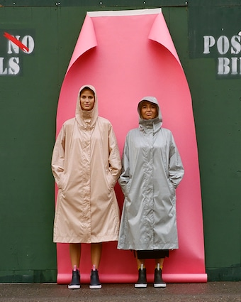 Michelle Waugh The Stephanie Raincoat 2