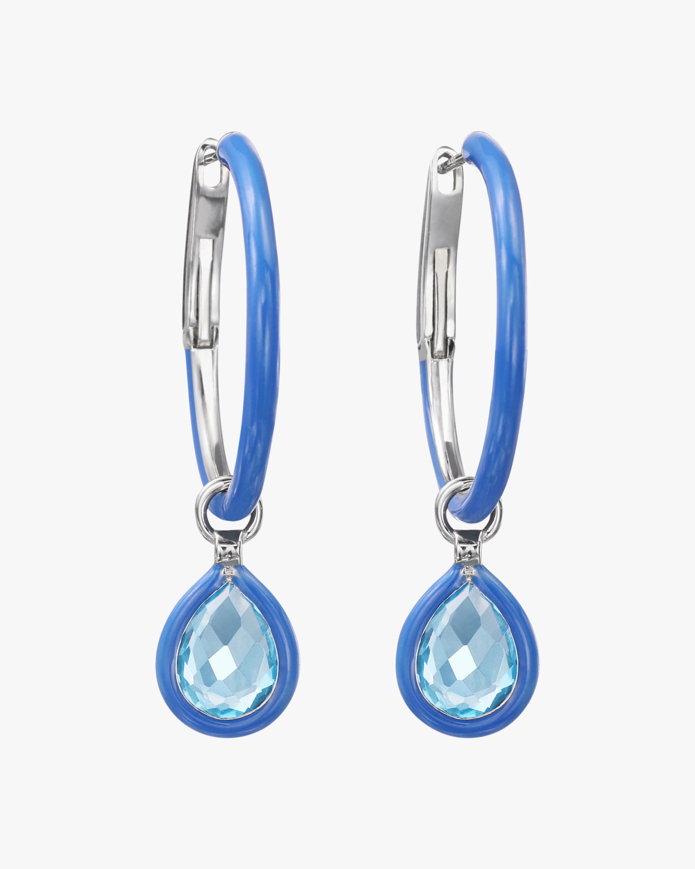 Nina Runsdorf Mini The Artist Hoop Earrings 2