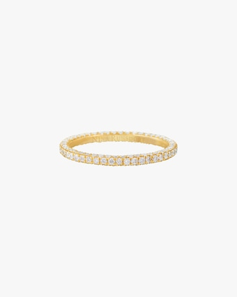Nina Runsdorf Three-Row Eternity Band 2