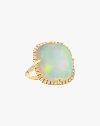 Nina Runsdorf Opal Cushion Ring 1