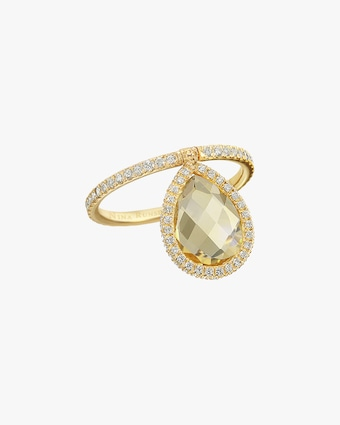 Nina Runsdorf Medium Citrine Flip Ring 2
