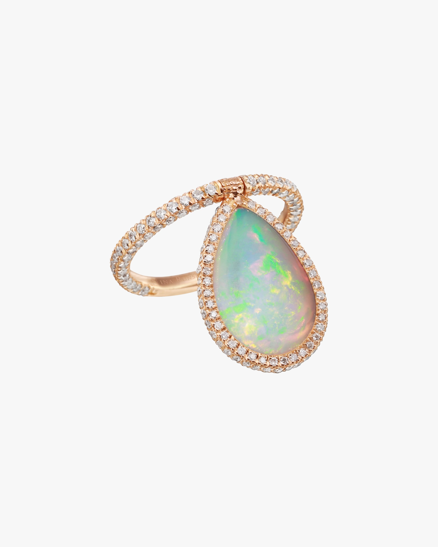 Nina Runsdorf Large Opal Flip Ring 1