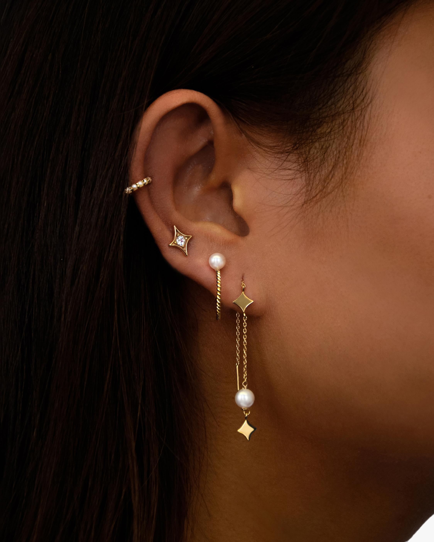 Jac + Jo Gothic Stud Earrings 1