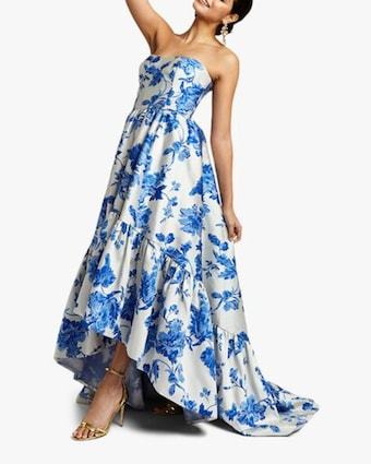 Georgiana High Low Gown