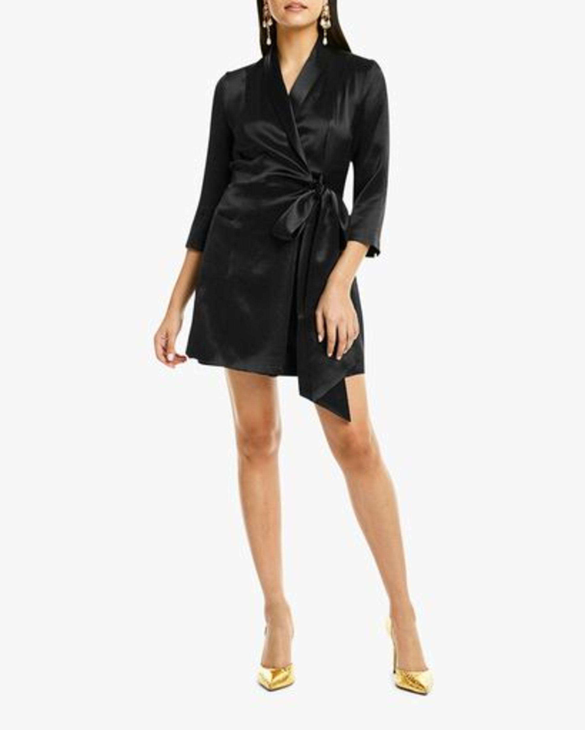Claudia Tuxedo Dress