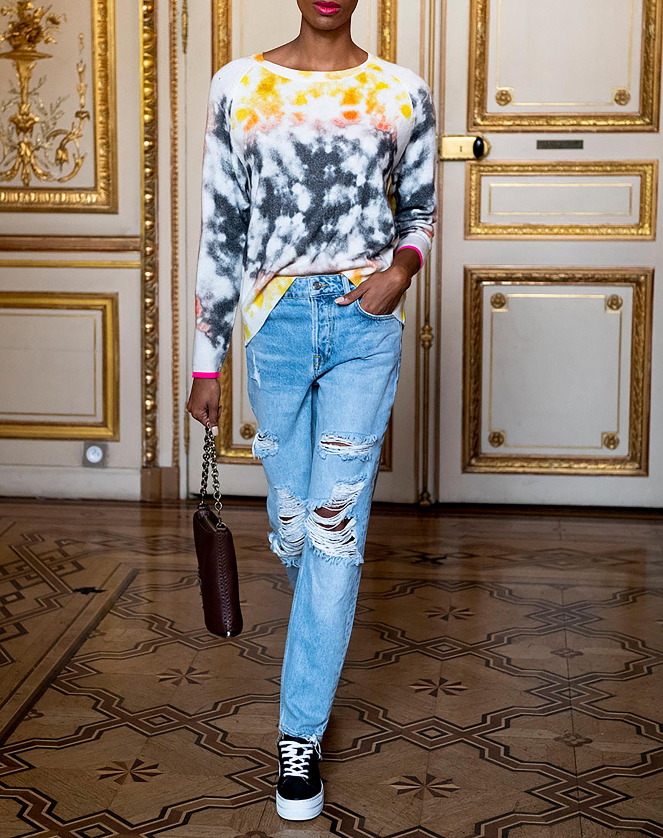 Emilia Tie-Dye Sweater