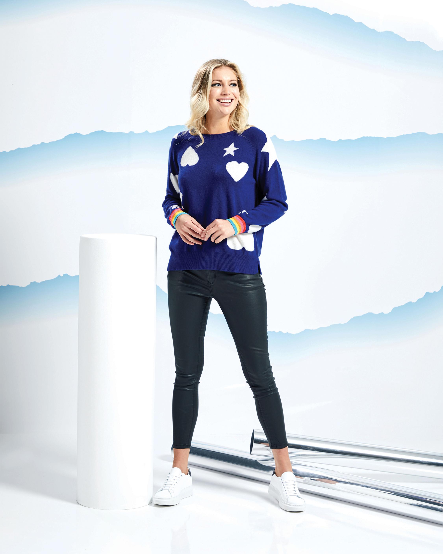 Brodie Cashmere Starstruck Sweater 2