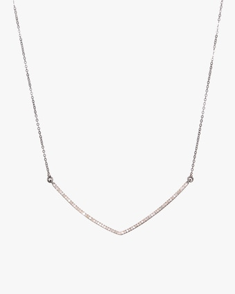 Shana Gulati Large V Pendant Necklace 1